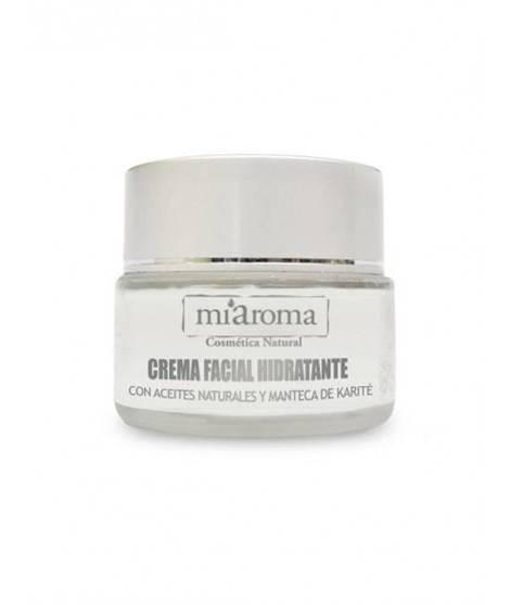 CREMA FACIAL HIDRATANTE -  Crema facial hidratante de acción regeneradora con extractos naturales
