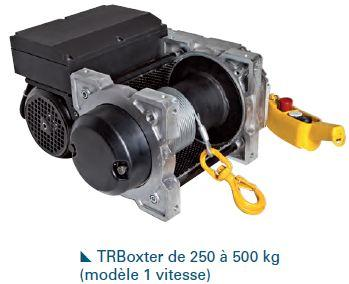 Treuils électriques - Treuil électrique 250kg à 500kg à commande basse tension avec 1 vitesse -