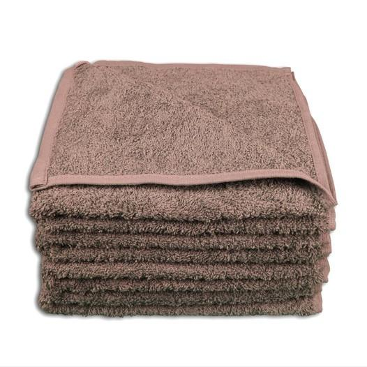 4 Stück Handtuch Set 50x100cm Farbe: Taupe - null