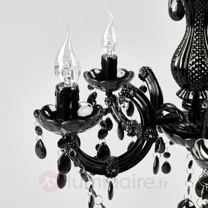 Lustre mystérieux ARABESQUE noir - Lustres classiques,antiques