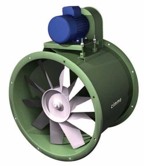 Gae - Ventilateur Basse Pression Type Gae - Transmission Poulie Courroie - null