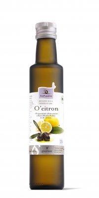 """Huile d'olive bio """"O'citron"""" - Produits oléicoles"""