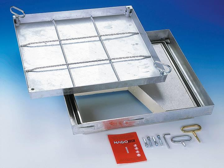 BV-Thermo steel galvanised BVE-Thermo stainless steel... - Sealed covers
