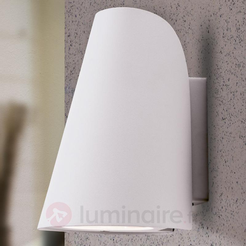 Applique d'extérieur LED Ulick blanche - Appliques d'extérieur LED