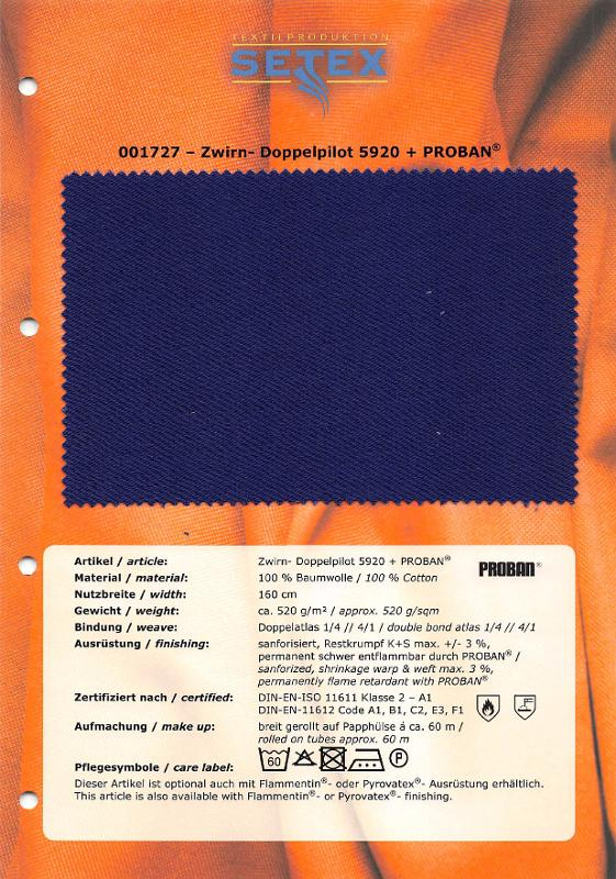 Zwirn-Doppelpilot 5920 + PROBAN® - Zwirn-Doppelpilot 5920 + PROBAN®