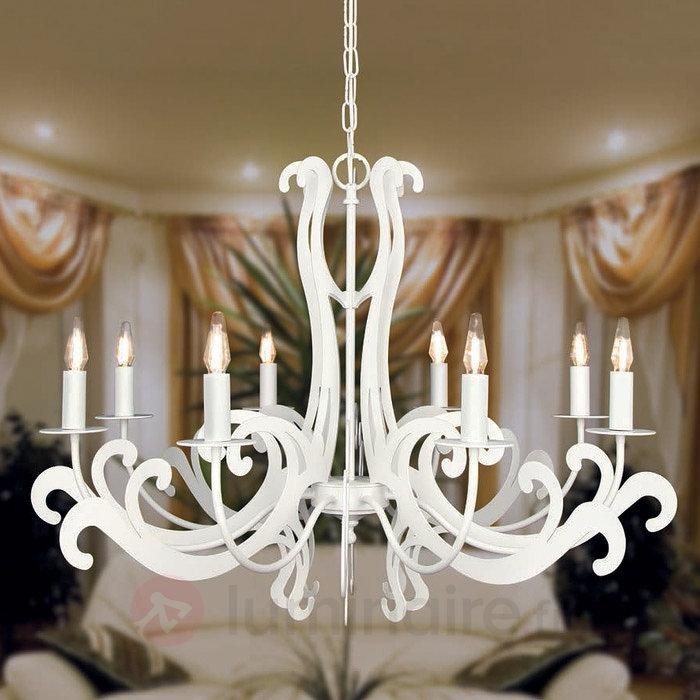 Lustre Piera à 8 lampes - Lustres classiques,antiques