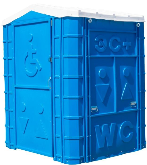 PORTABLE TOILET CABIN  - «ECOMARKA Special» (for persons with disabilities)