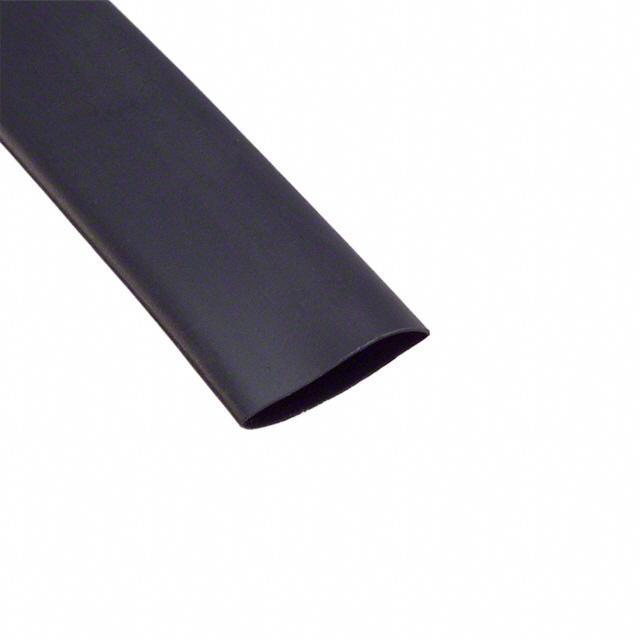 HEATSHRINK 3/8 IN X 4FT BLACK - Alpha Wire F221B3/8 BK100