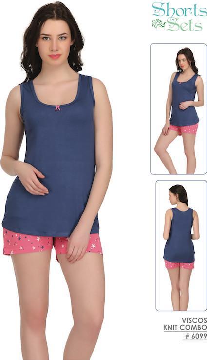 Pink Shorts Set #6099