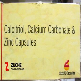 Calcitriol Calcium Carbonate and Zinc Capsules