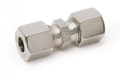 UNION DOUBLE ÉGALE INOX 316 TI - DIN 2353 (5411)