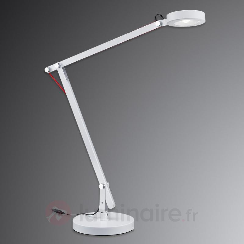 Lampe LED Amsterdam, blanc - Lampes de bureau LED