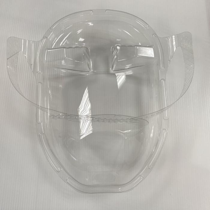 PET 防护面罩 - 轻盈,方便携带,水洗后就可以继续使用,非常耐用
