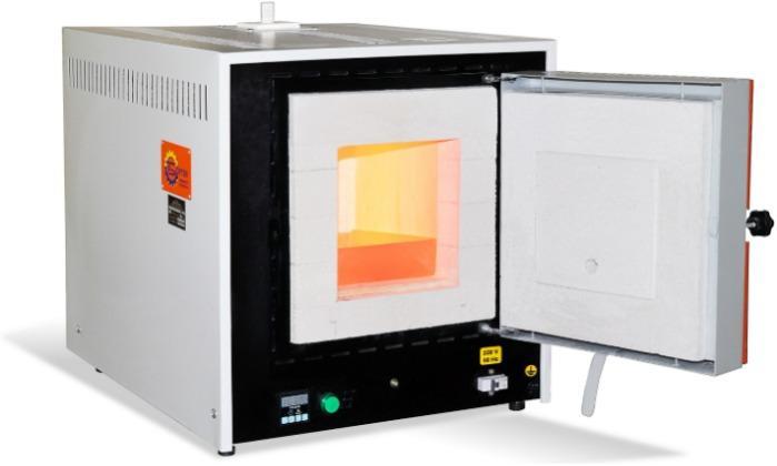 Муфельная печь СНО-2.4.2/11 И2 - для термообработки металла, обжига керамики, лабораторных испытаний до 1100°С