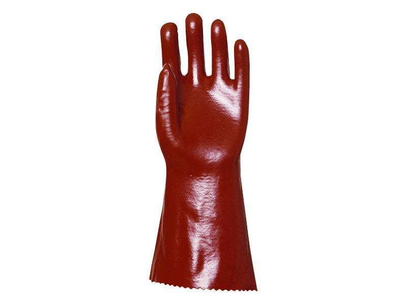 Gant PVC rouge Réf. : PG3620 - Protection individuelle EPI