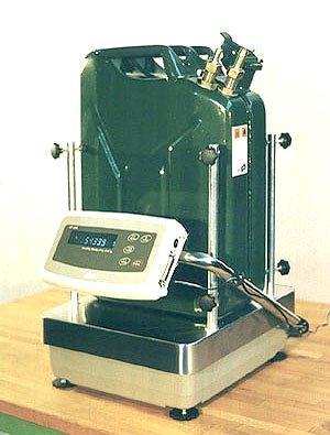 Dispositif de mesure de la de la consommation de carburant - Mesure de la de la consommation spécifique de carburant.
