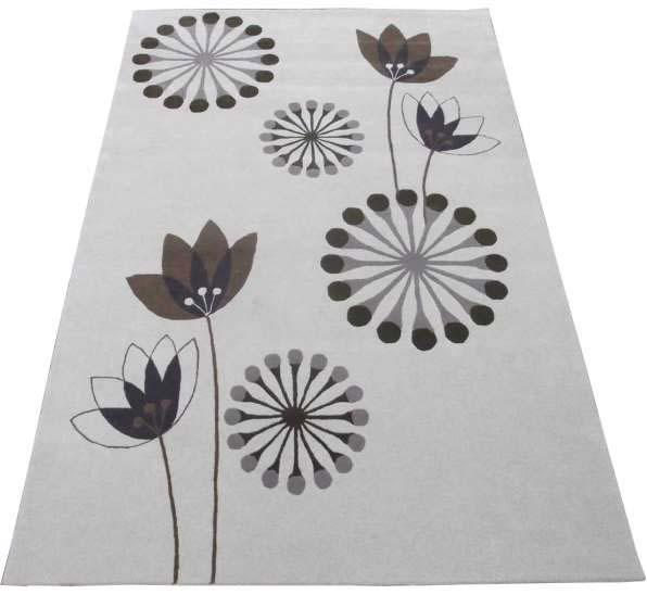 Hand Tufted Rugs; Latexed back with cotton cloth backing