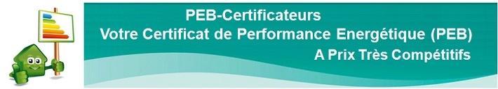 Audit Certificat énergétique CEP IBGE  - certification PEB