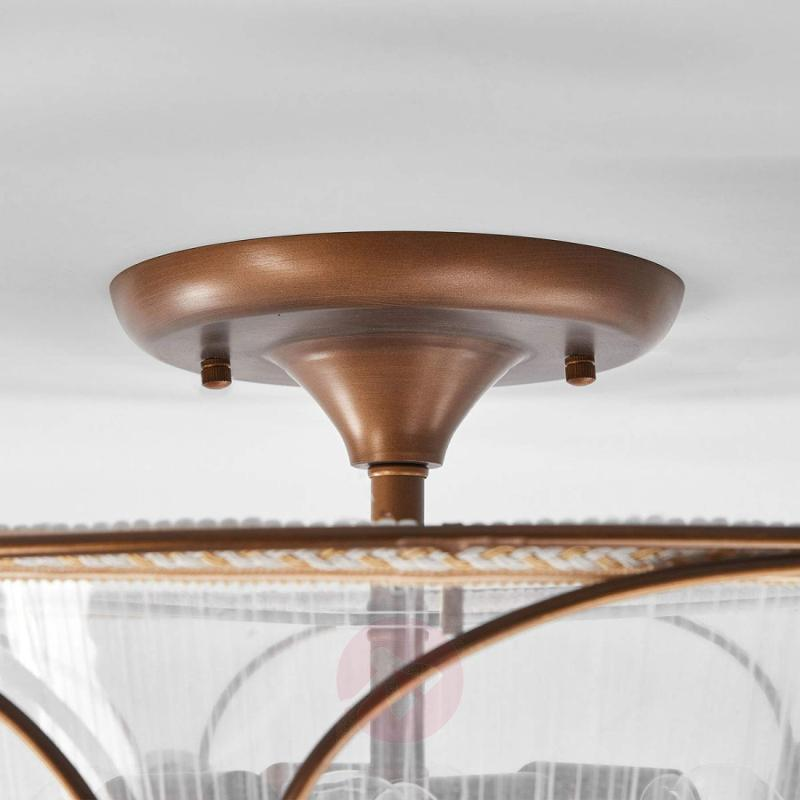 With a pretty angel motif - ceiling lamp Letizia - design-hotel-lighting