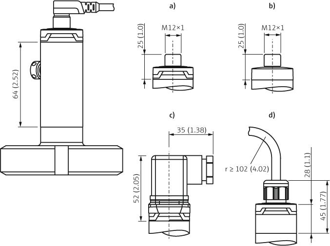 Cerabar PMP23 - Remplace PMP135 - Pressostats et capteurs de pression
