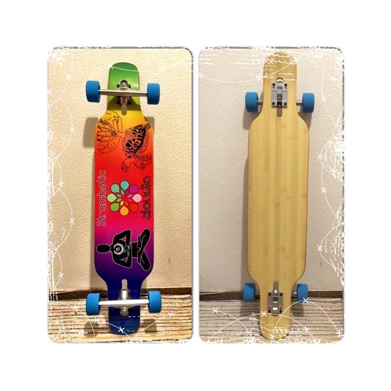 Longboard Personalizable Skull 40 - Skate/Longboard