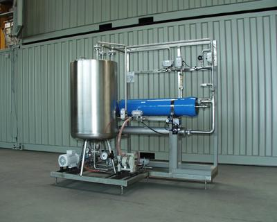 Reverse osmosis used for surface water treatment - surface-water