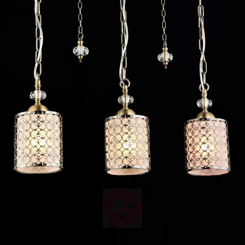 Sherbon - classic hanging lamp with 3 lampshades - indoor-lighting