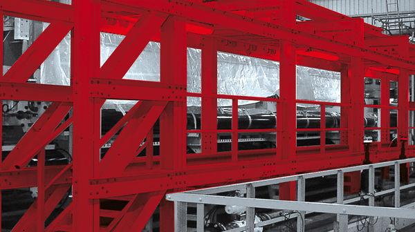 Walkway And Platforms - pultruded glassfibre profiles are designed to a platform