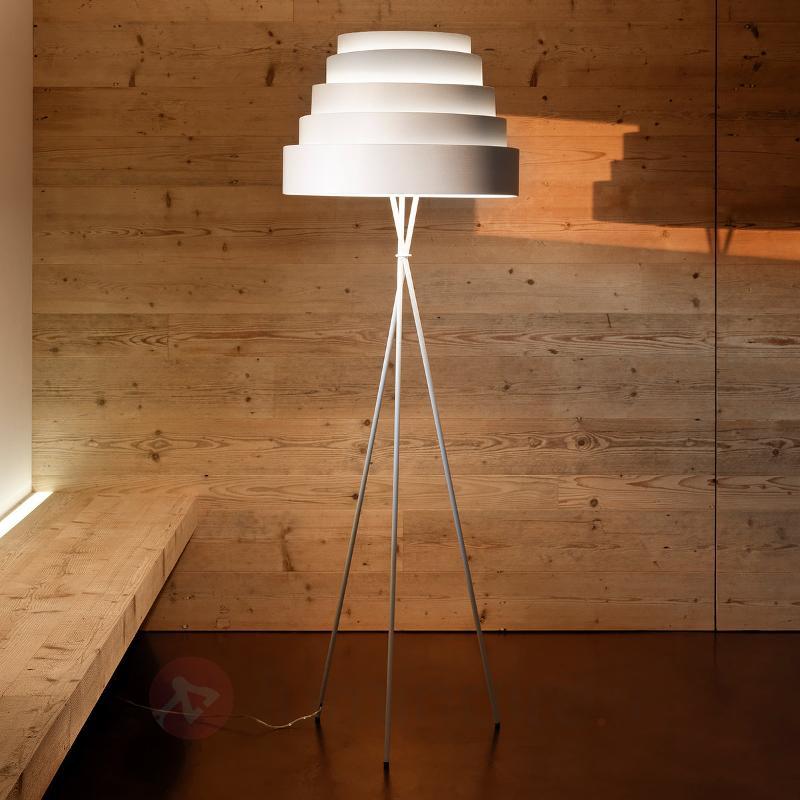 Lampadaire Babel ravissant sur trépied - Lampadaires design
