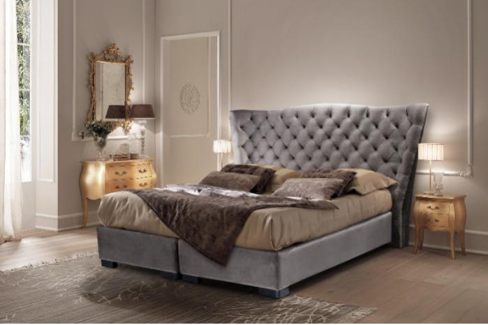 Лугано - Кровать «Лугано» - это королевский шик.