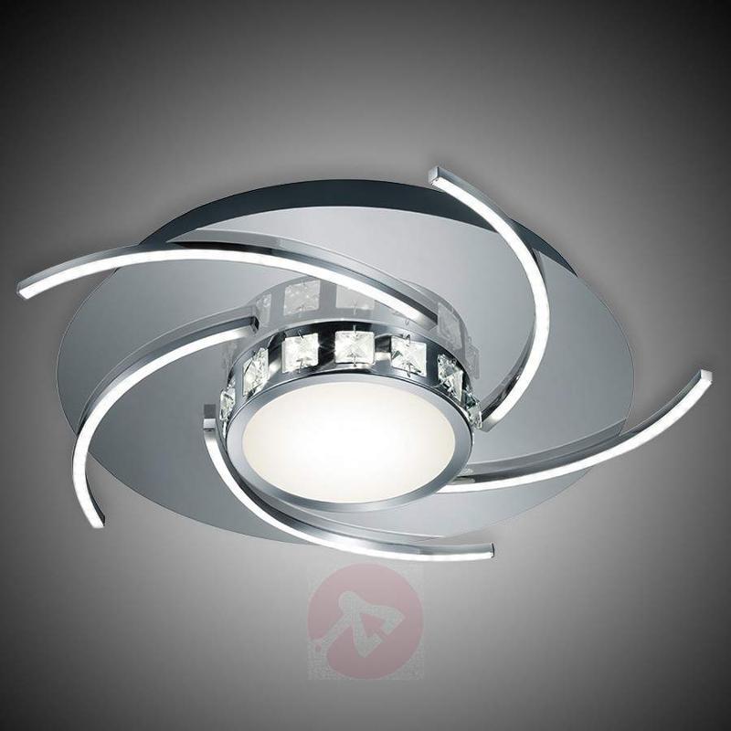Torino - elegant, bright LED ceiling light, dimm. - Ceiling Lights