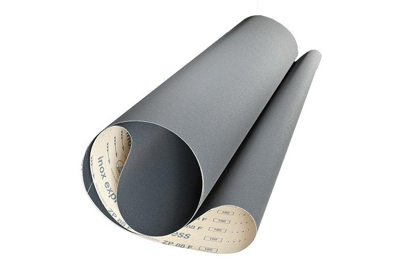 Breitbänder für Metallschliff ZP88F inox express - Körnungen: P100, P120, P150, P180, P220