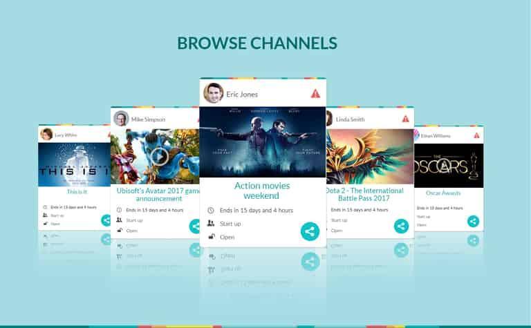 Gather Online - Social Media App Development