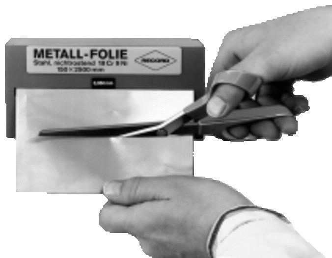 Stahl nichtrostend in Rollen -