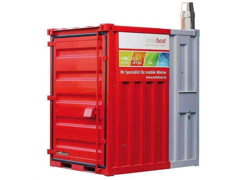 Vermietung orange-line - Heizcontainer MH150C