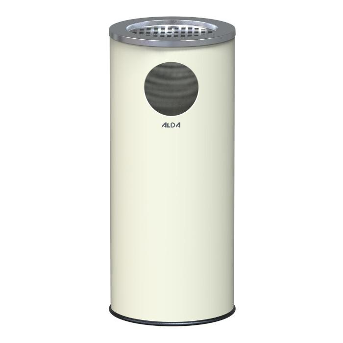 ASHTRAY BIN WITH STAINLESS LID  - MARCO