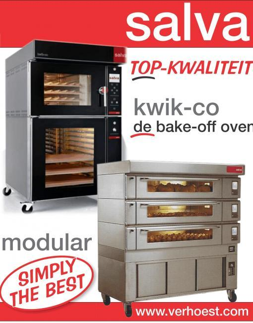 Bake-off, geventileerde ovens - Salva ovens simply the best