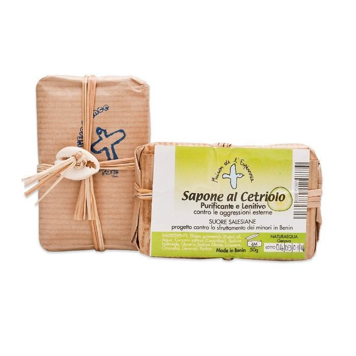 Sapone al cetriolo - Per pelli delicate: purificante e lenitivo