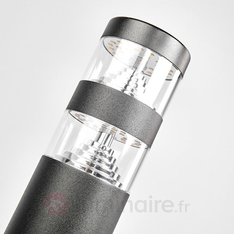 Borne lumineuse LED Lanea en inox - Bornes lumineuses LED