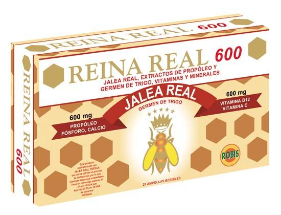 Royal Jelly 600 - STIMULATING OF PHYSICAL ENERGY
