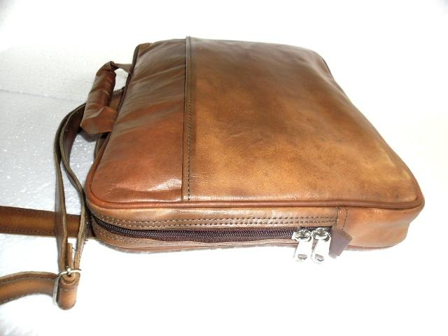 Leather Laptop Sleeve  - Leather Sleeve Bag To Carry Laptop