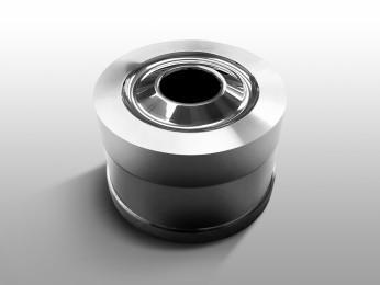 Metallo duro assemblato in un contenitore di acciaio - Matrici