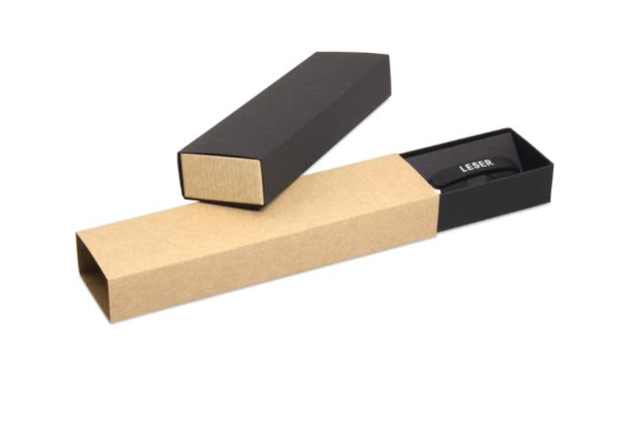 Pen package with slipcase -