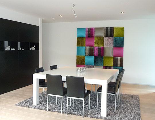 Décoration intérieure acoustique - Revêtement de murs et plafonds en toile tendue acoustique
