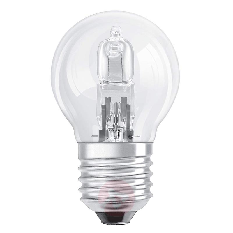 E27 20W tear bulb Halogen CLASSIC P - light-bulbs