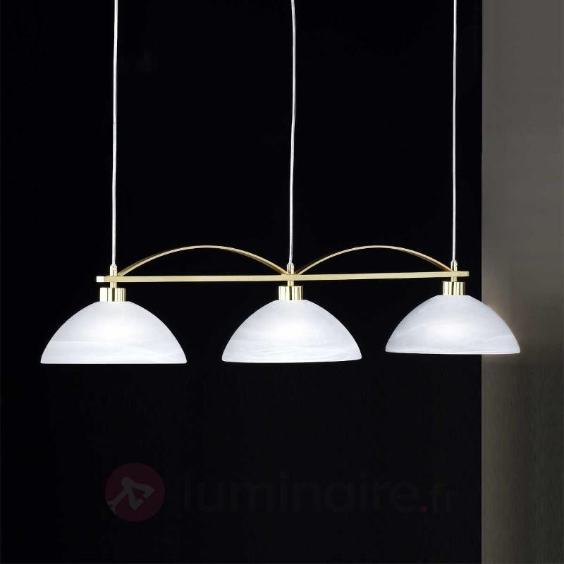 Lampes en laiton produits for 3 lampes suspension