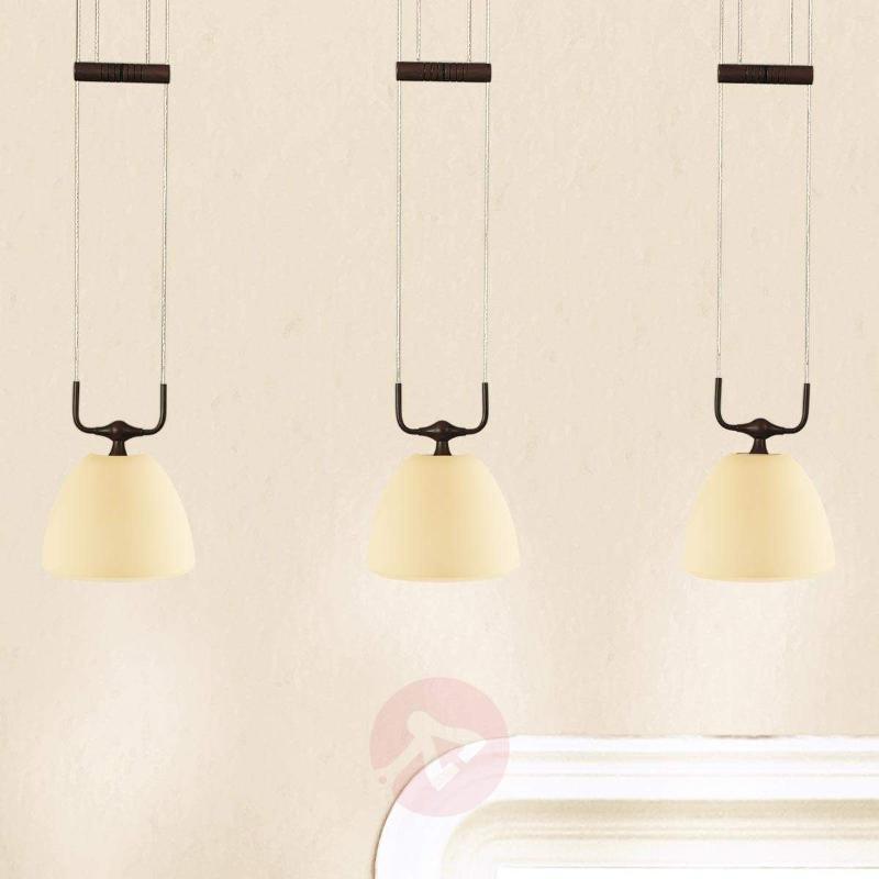 Height-adjustable hanging light Samuele - Pendant Lighting
