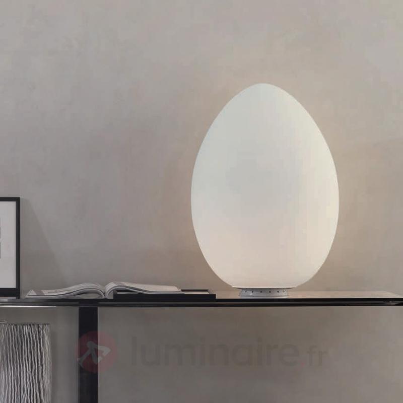 Magnifique lampe à poser UOVO 27 cm - Lampes à poser designs