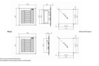 Fan12 Gruppi Di Ventilazione Con Filtro - LINEA CLIMATIZZAZIONE