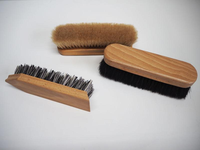 High quality materials - Shoe care brushes